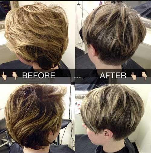 30 Short Layered Haircuts 2014 � 2015 | http://www.short-haircut.com/30-short-layered-haircuts-2014-2015.html
