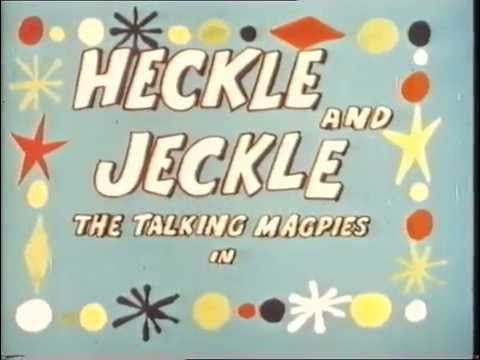 Terrytoons 1951 Heckle & Jeckle Las Urracas Parlanchinas