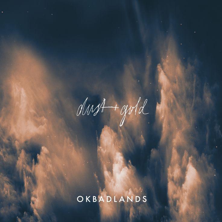 OKBADLANDS single cover designed by Cherie Allan - @designbycherie - cherieallan.design