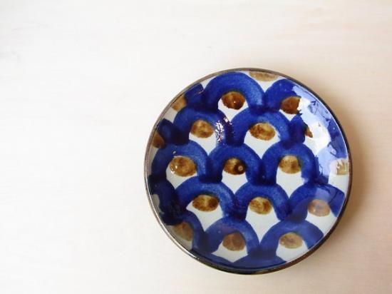 鱗紋7寸皿 室生窯 ( 沖縄 陶器 ) - miyagiya
