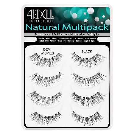 Ardell® Professional Natural Eyelashes - Demi Wispies Black - 4 pair : Target