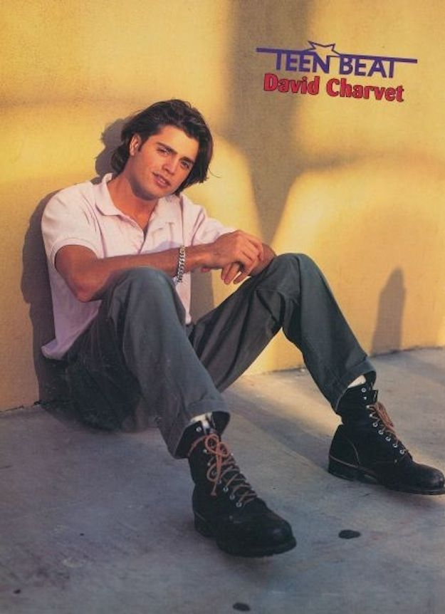 David Charvet | 100 Forgotten Heartthrobs Of The '80s And '90s
