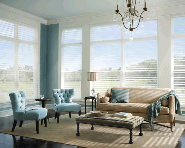 Great all in one blinds and sheers for your windows.