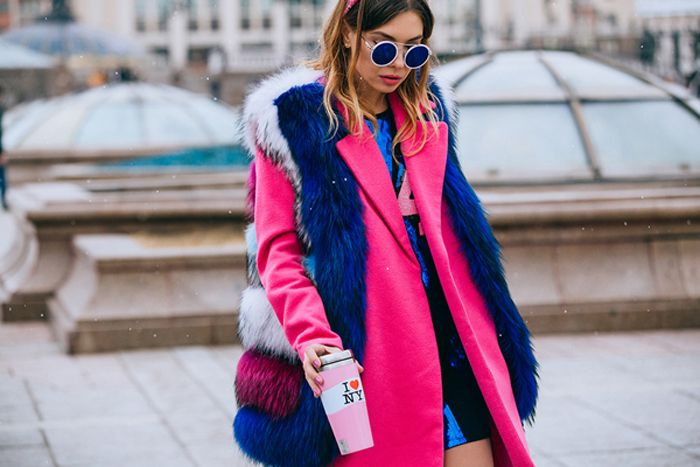 Уличная мода с Недели моды Мерседес-Бенз в Москве / Street style