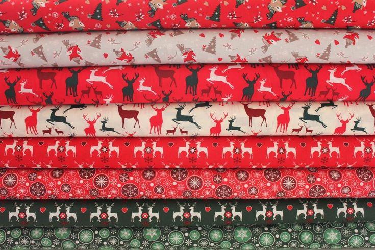 ZA BABKU | Vánoční vločky v kolečku na zelené | LÁTKY METRÁŽ | PATCHWORK | GALANTERIE