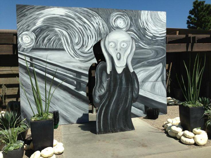 Halloween mural at Roger's Gardens                                                                                                                                                     More
