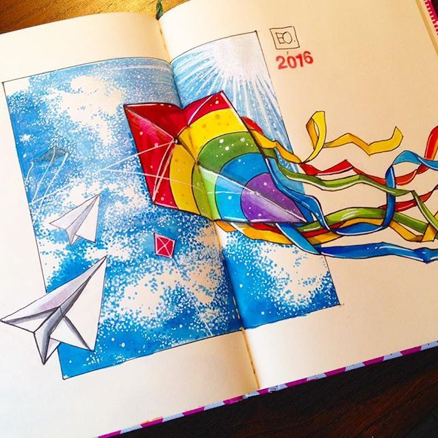 3/4 Активные игры с детьми на свежем воздухе, особенно нравится запускать летающего змея и самолетики.🎈#марафон_активный_сентябрь от @lisa.krasnova @peredvizhnik @savannasketch. #art #sketch #sketchdoodles #liner #multiliner #sketching #sketchbook #markers #copicart #copic #скетч #скетчбук #worldofartistso #kite #рисую #иллюстрация #художникмосква #художник #художник_москва #скетч #скетчбук #skethzone #worldofartists #скетчмаркерам #скетчинг #зарисовки #finecolor #copicsketch