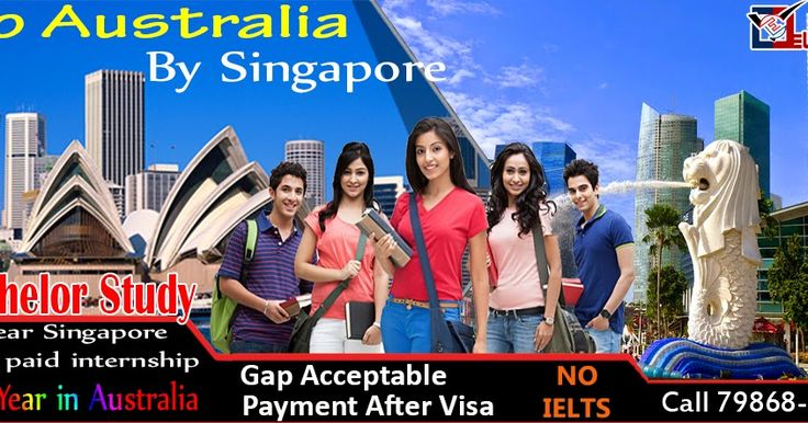 GO AUSTRALIA BY SINGAPORE BACHELOR STUDY 1st YEAR IN SINGAPORE (With Paid Internship) 2nd YEAR IN AUSTRALIA COURSE - HOSPITALITY & TOURISM/HOSPITALITY MANAGEMENT AND LOGISTICS MANAGEMENT NO IELTS NO OLD FUNDS GAP ACCEPTED NO BANK STATEMENT PAYMENT AFTER VISA CALL 79868 36124 https://www.facebook.com/electjob1/