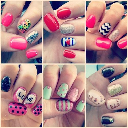 Www.pinkurock.com nail art!