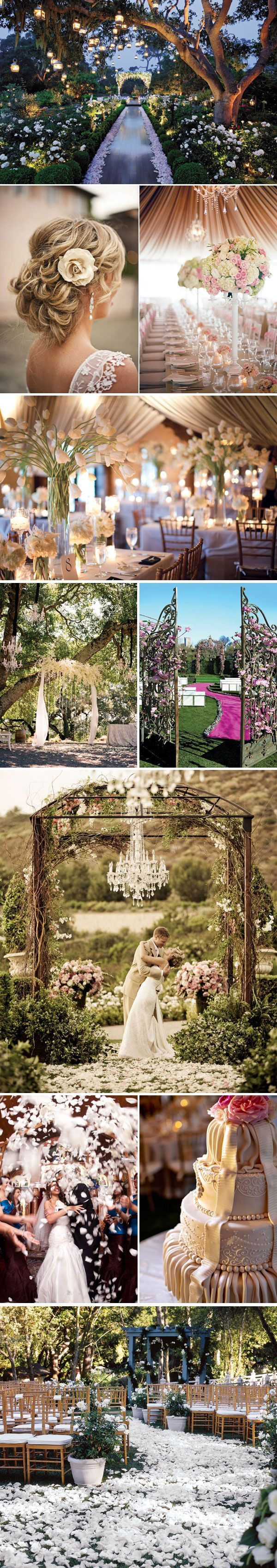 Not planning to get married but if I was going to ...it might look a little like this ... #enchantedforest#glamwedding