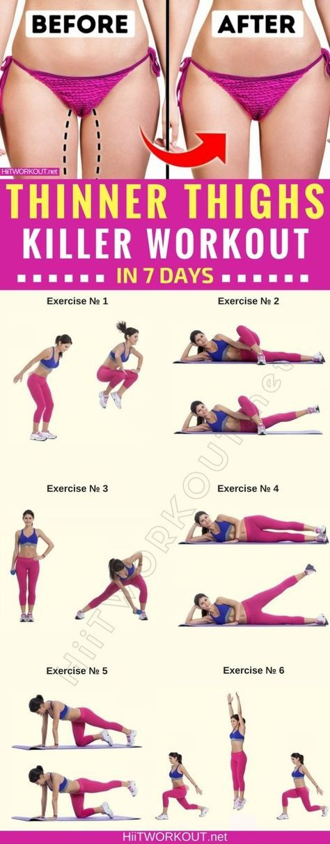 How to get thinner thighs in just 7 days