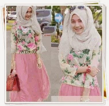 trend busana muslim wanita modern style korea