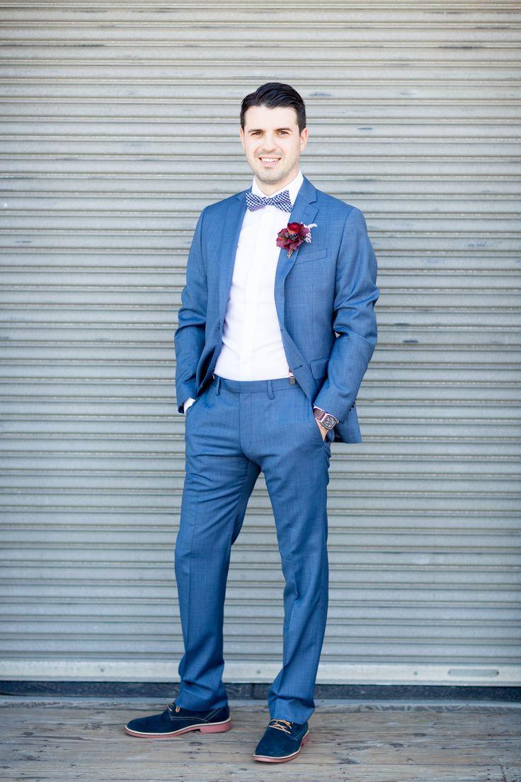 Exelent Blue Groom Suits Pattern - Wedding Dress - googeb.com