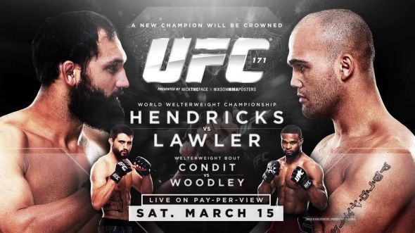 UFC 171 Predictions and preview - FANSIDED #UFC, #Sport