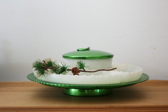 vintage 50s Mid Century Holiday by littleveggievintage on Etsy, $40.00