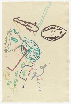 John Cage. 30 Drawings by Thoreau from Merce Cunningham. 1974, published 1975