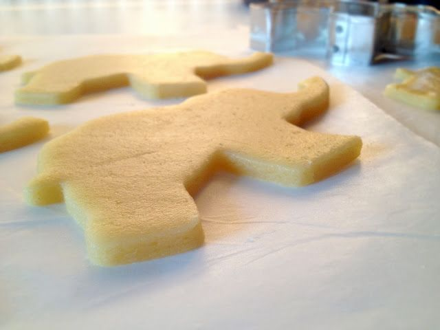 Donkey and the Carrot: Project: Mπισκότο βάπτισης -- Sugar cookies: the making of