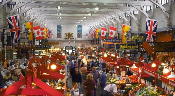 Market, Saint John, New Brunswick Canada