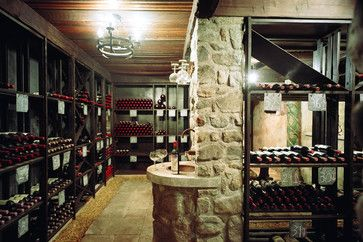 A dark wine cellar will keep you wine from prematurely ageing.