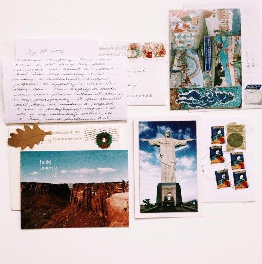 1. Letter is from Serena J. Armstrong who lives in Stanfield-North Carolina / USA  2. Anne Van Der Berg from Almelo / The Netherlands  3. Kristen & Matt from FL / USA  4.Yugi Aragão from Rio de Janeiro / Brasil