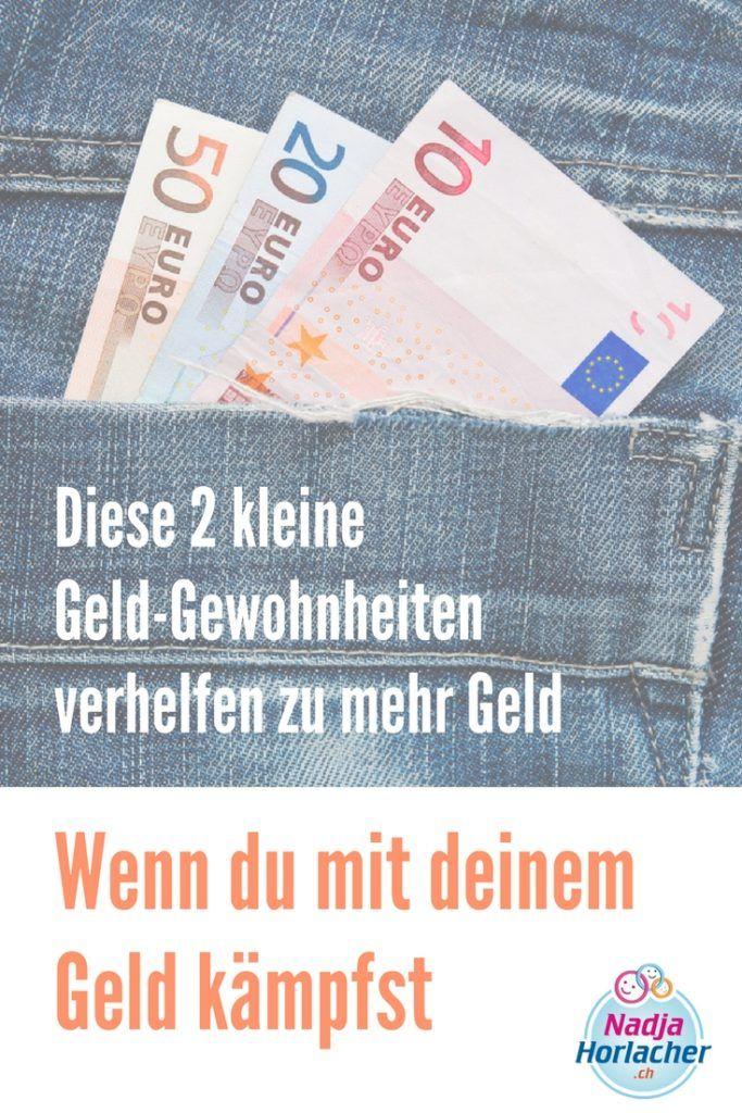Wenn du mit deinem Geld kämpfst – Diese 2 kleine Geld-Gewohnheiten verhelfen zu mehr Geld – Finanzen