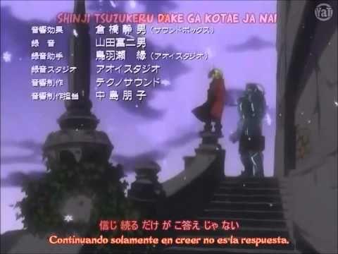 Full Metal Alchemist - Tobira No Mukou He ( Ending 2 Sub Español ) - YouTube