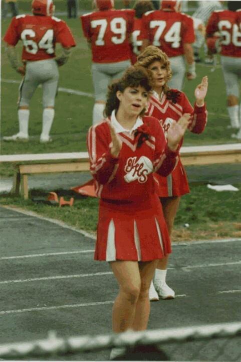 Ugly wool cheer uniforms | Remember? | Cheerleading ...