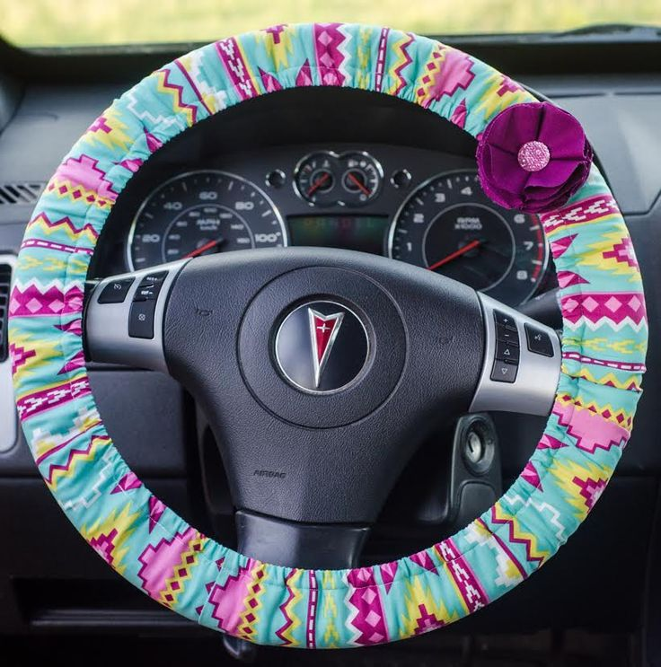 Aztec Tribal Padded Steering Wheel Cover Car Decor Cute Car Accessories - pinned by pin4etsy.com