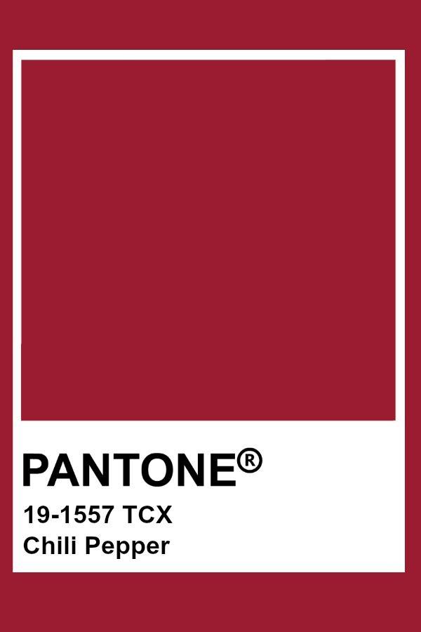 Pantone Chili Pepper Pantone Red Pantone Palette