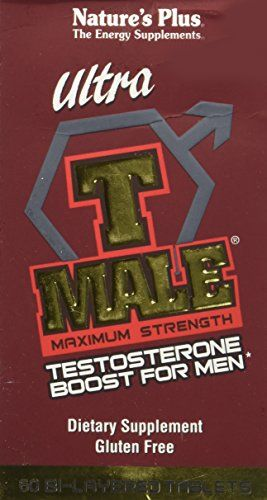 Ultra T Male Max Strength by Nature's Plus 60 Tablet Ultra T Male Max Strength 60 Tablet Natures Plus T Male Testosterone Booster is a revolutionary supplement that nutritionally supports healthy natu...