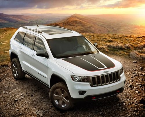 Jeep Grand Cherokee Trailhawk Hood Decal (Part No: 82213690)