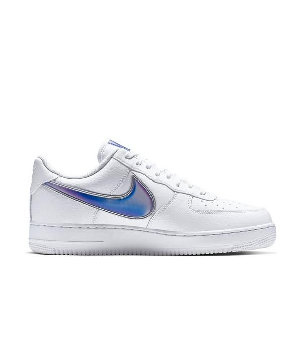 Nike Air Force 1 Low White Blue Clear Men S Shoes Hibbett City Gear Nike Air Force Nike Air Nike