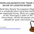 best the glass castle images glass castle the   thank you ma am by langston hughes is a wonderful short story that