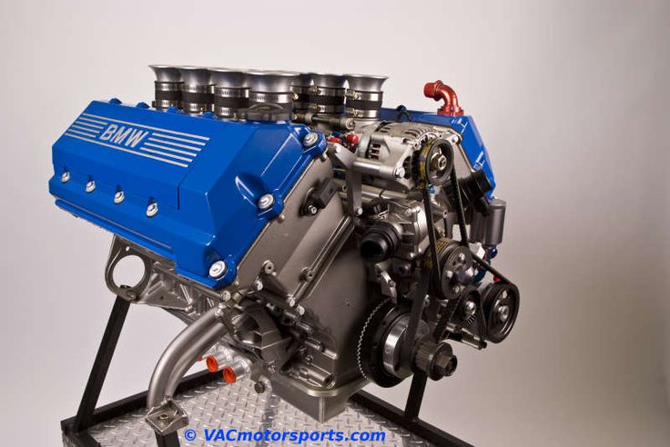 VAC Motorsports BMW M62 with ITB's.