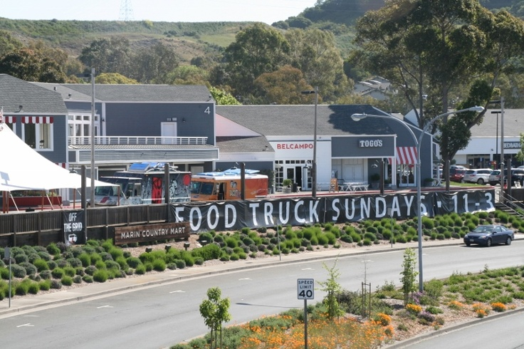 Marin Country Mart Food Trucks