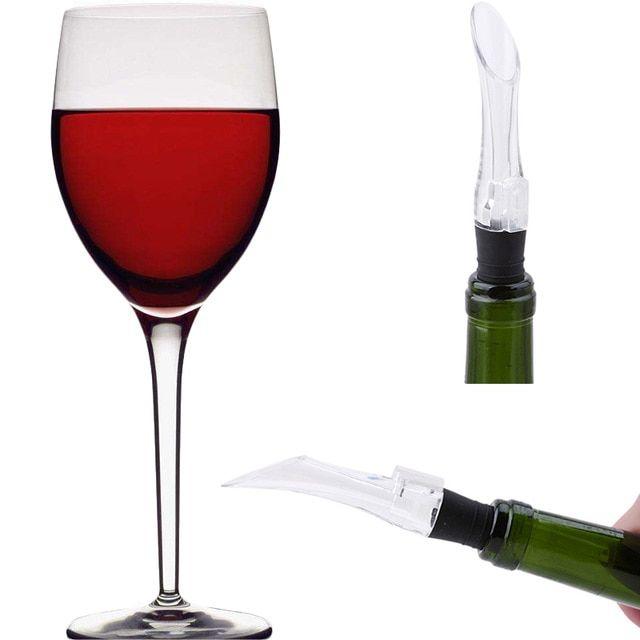 Amorosa Aerating Wine Glasses Set Of 2 Wine Cellar Racks Red