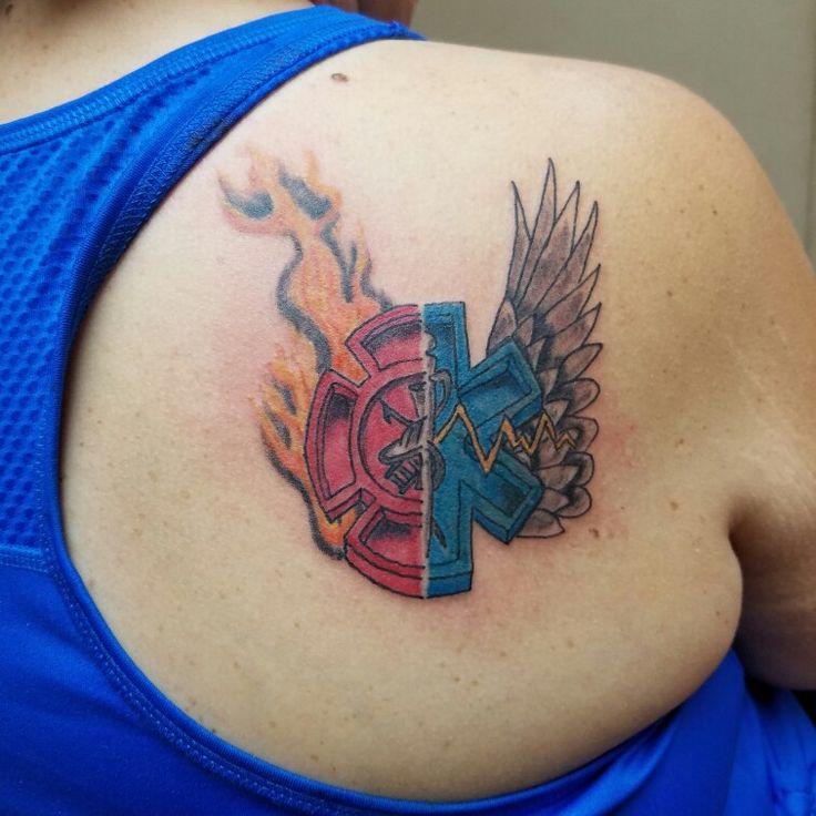 Firefighter/EMS tattoo