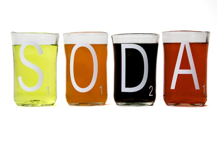 Soda Scrabble Upcycled Tumblers