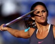Leryn Franco of Paraguay specializes in the women's javelin throw.