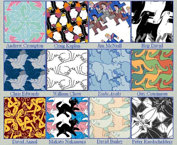 Math Art Projects Activities | ... in school, math art in elementary and high school, Escher in classroom
