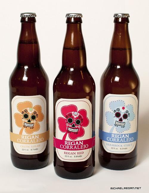 Regan Corralejo. Must be some #beer ! creative #packaging PD