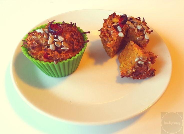 Muffiny z batatów