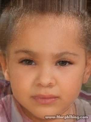 Zayn Malik & Beyonce baby morph..