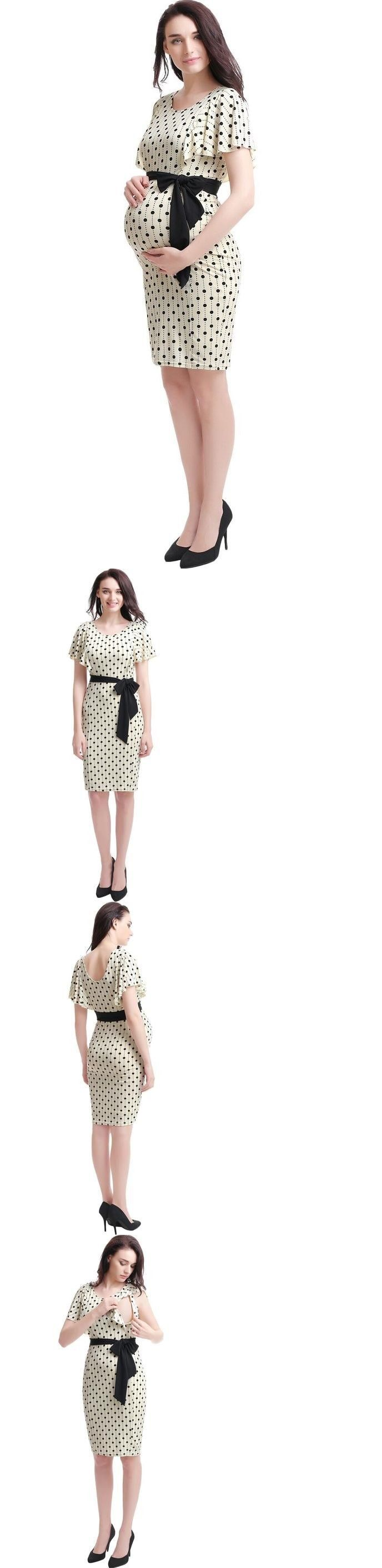 25 legjobb tlet a pinteresten a kvetkezvel kapcsolatban polka dresses 11534 kimi kai beige polka dot maternity dress buy it now ombrellifo Image collections