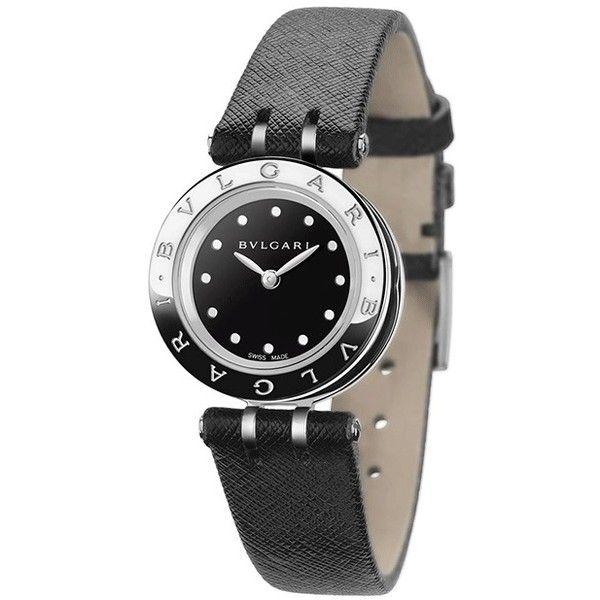 bulgari bzero1 quartz 23mm bz23bscl watch liked on polyvore featuring
