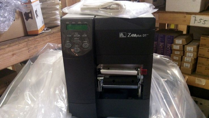 NEW ZEBRA Z4Mplus DT THERMAL LABEL PRINTER
