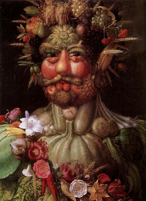 Giuseppe Arcimboldo (1527—1593) The Habsburg Emperor Rudolf II as Vertumnus