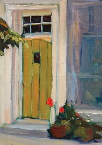 """Old Entry"" - Original Fine Art for Sale - © Maryann Lucas"