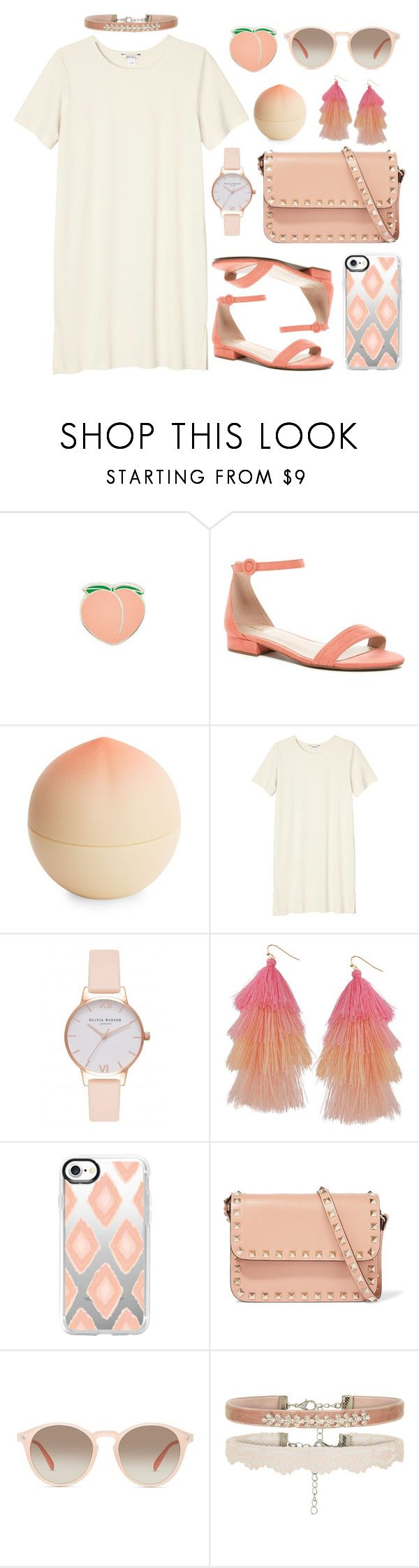 """untitled #43"" by karla-jhoana ❤ liked on Polyvore featuring PINTRILL, ALDO, Tony Moly, Monki, Olivia Burton, Humble Chic, Casetify, Valentino and GlassesUSA"