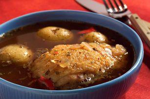 Sancocho panameño con pollo